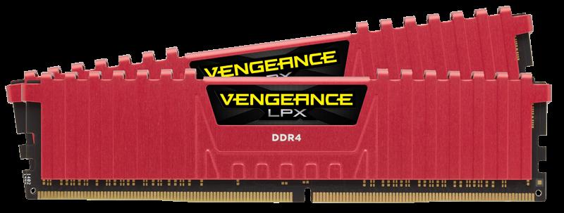 Corsair Vengeance LPX 16GB (Kit 2 x 8GB) DDR4 DIMM 4266MHz C19 1.4V, červená