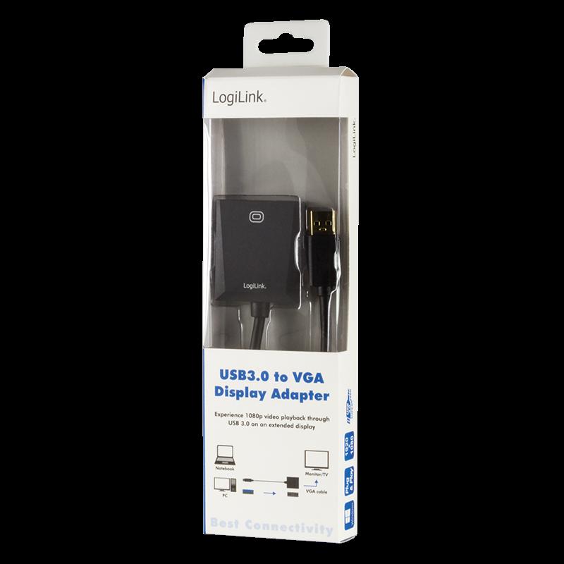 LOGILINK - Adapter USB3.0 to VGA