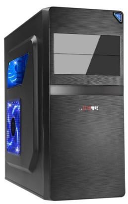 Gembird PC skříň Midi Tower Junona, černá