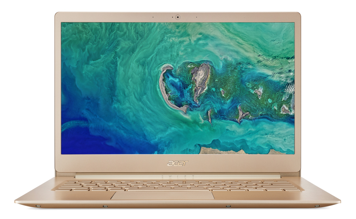 """Acer Swift 5 (SF514-52T-556K) Core i5-8250U/8GB+n/a/256GB+N/14"""" FHD IPS Multi-touch LCD/HD Graphics/W10 Home/Gold,,970g"""