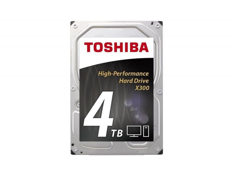 Internal HDD Toshiba X300, 3.5'', 4TB, SATA/600, 128MB cache BOX