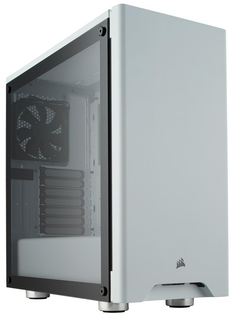 Corsair PC skříň Carbide Series 275R ATX Mid-Tower, tvrzené sklo, bílá