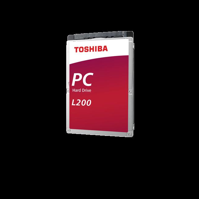 Interní HDD Toshiba L200 2,5'' 1TB SATA 5400RPM 128MB BULK