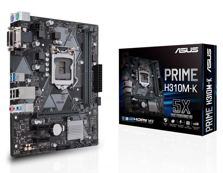 ASUS PRIME H310M-K, LGA1151 H310 ATX
