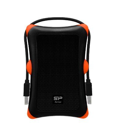 SILICONPOW SP000HSPHDA30S3K Silicon Power externí box na HDD 2,5 A30 SATA, USB 3.0, Anti-Shock,černá