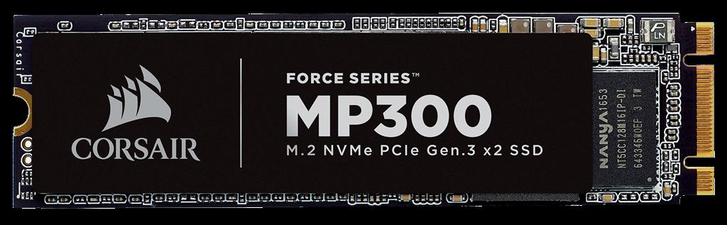 Corsair SSD Force MP300 NVMe PCIe M.2, 120GB, 1520/460 MB/s