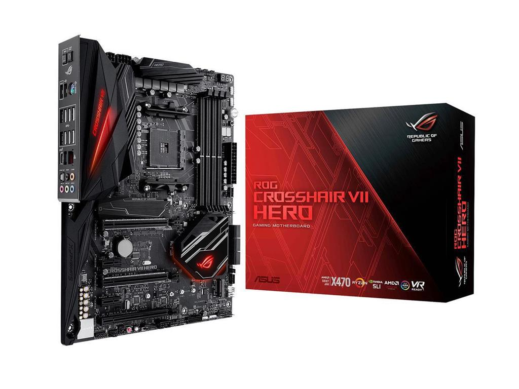 ASUS ROG CROSSHAIR VII HERO , AM4, X470, USB3.1, DUAL M.2, MB