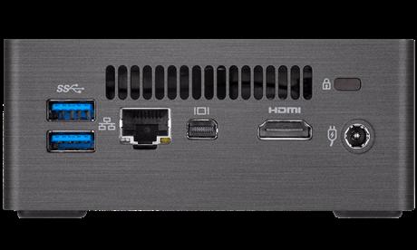 Gigabyte BRIX GB-BRI7H-8550, Intel® i7-8550U, 2xSO-DIMM DDR4, HDMI 2.0