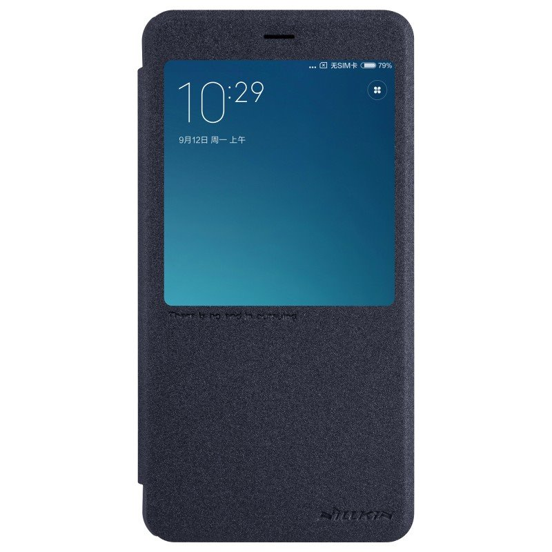 Nillkin Sparkle S-View Black Xiaomi Note 4 Global