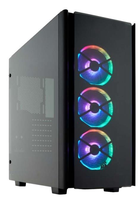 Corsair PC skříň Obsidian Series 500D SE RGB ATX Mid-Tower,tvrzené sklo,černá
