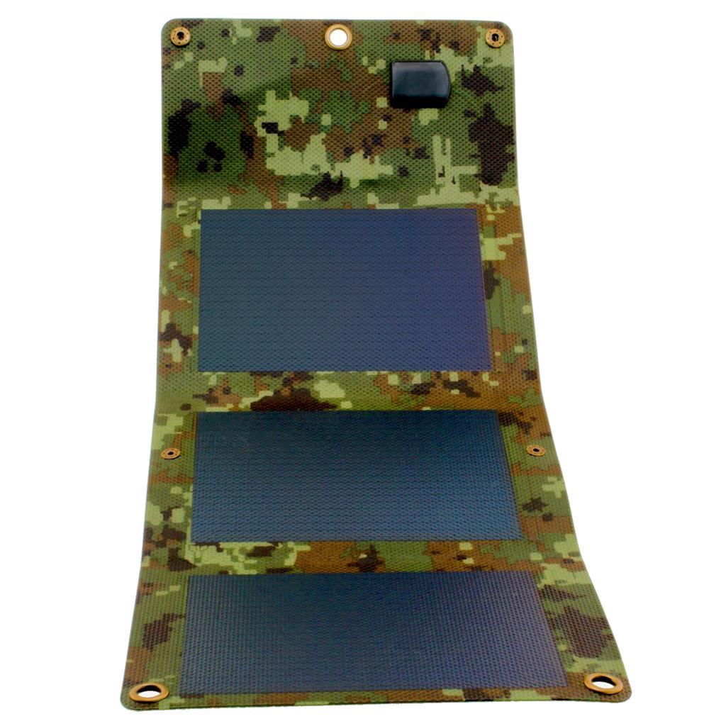 PowerNeed Sunen Flexibilní solární nabíječka 5W, maskování