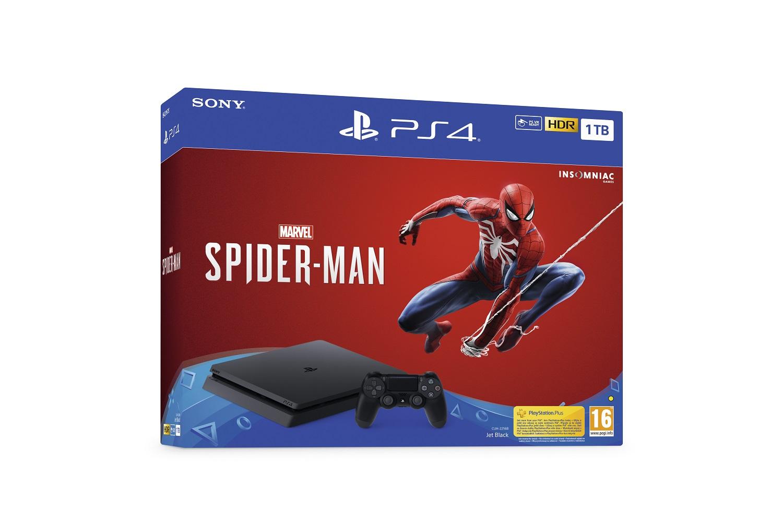 PS4 - Playstation 4 1TB + Spider-Man