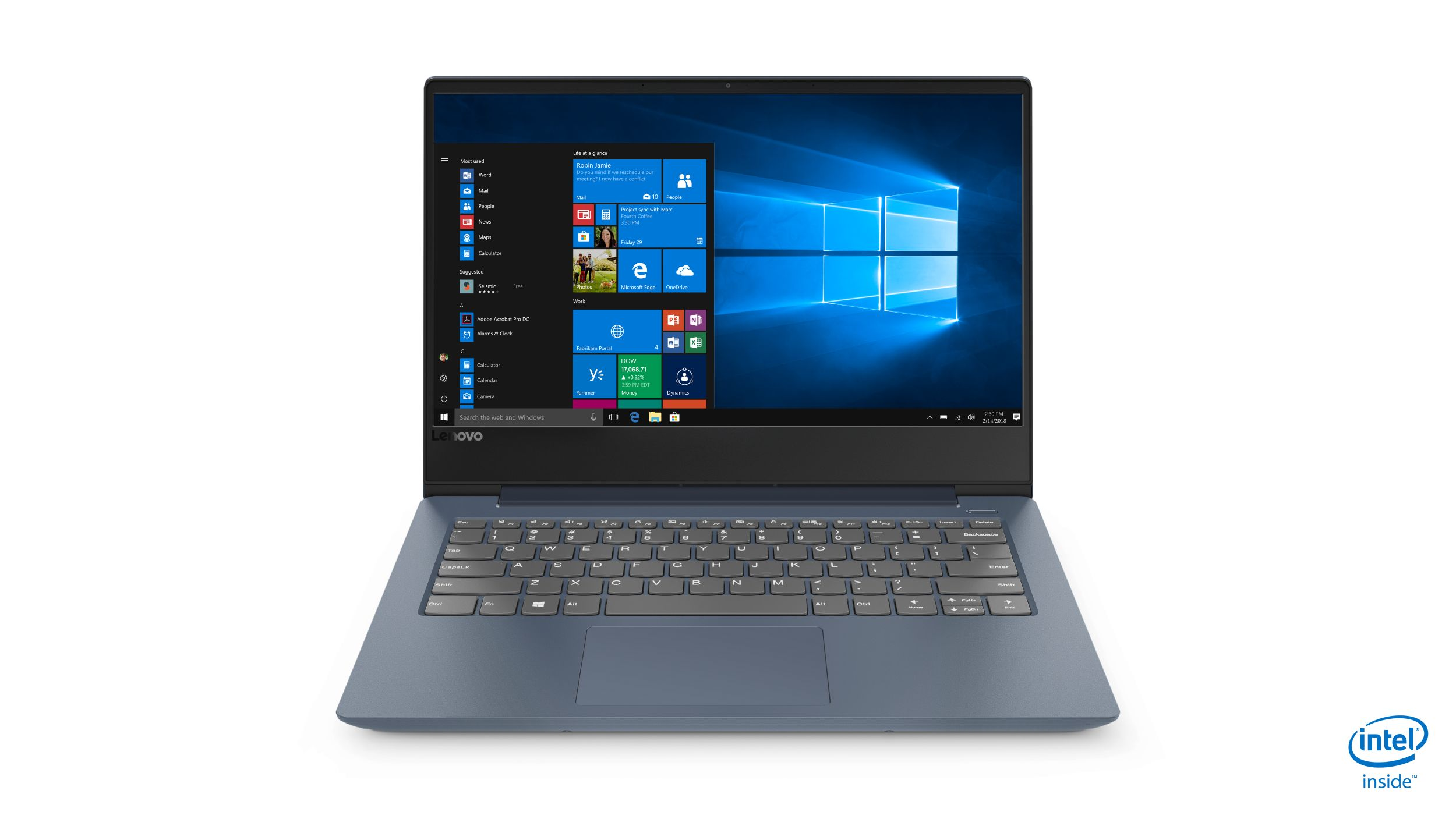 "Lenovo IdeaPad 330S-14IKB i7-8550U 4,00GHz/8GB/SSD 128GB+HDD 1TB/14"" FHD/IPS/AG/Radeon 2GB/WIN10 modrá 81F4004QCK"