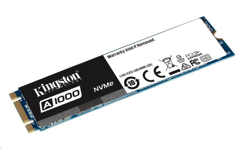 Kingston Flash 240G SSDNOW A1000 M.2 2280 NVMe