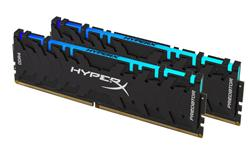 Kingston DDR4 16GB (Kit 2x8GB) HyperX Predator RGB DIMM 3600MHz CL17 černá