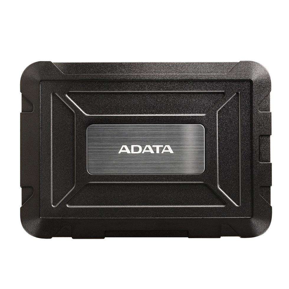 """ADATA Externí BOX ED600 Target audience 2,5"""" USB 3.1 (7 mm/ 9.5mm HDD/SSD) black"""