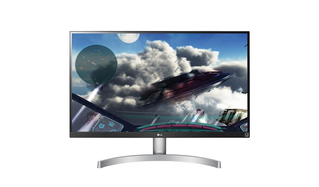 LG Monitor LCD 27UK600-W 27'', IPS, 4K UHD, HDR, HDMI, DP