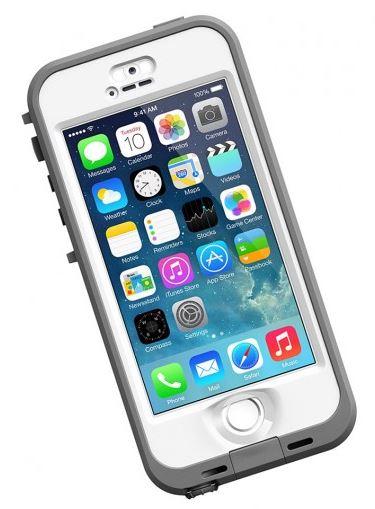 LifeProof nüüd odolné pouzdro pro iPhone 5/5s, bílé
