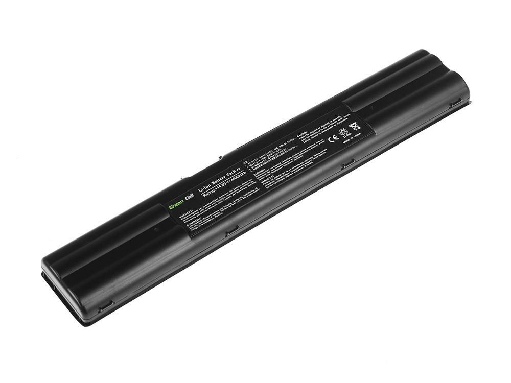 Baterie Green Cell pro Asus A3000 A3 A3E A6000 A6 A7 Z91 A42-A