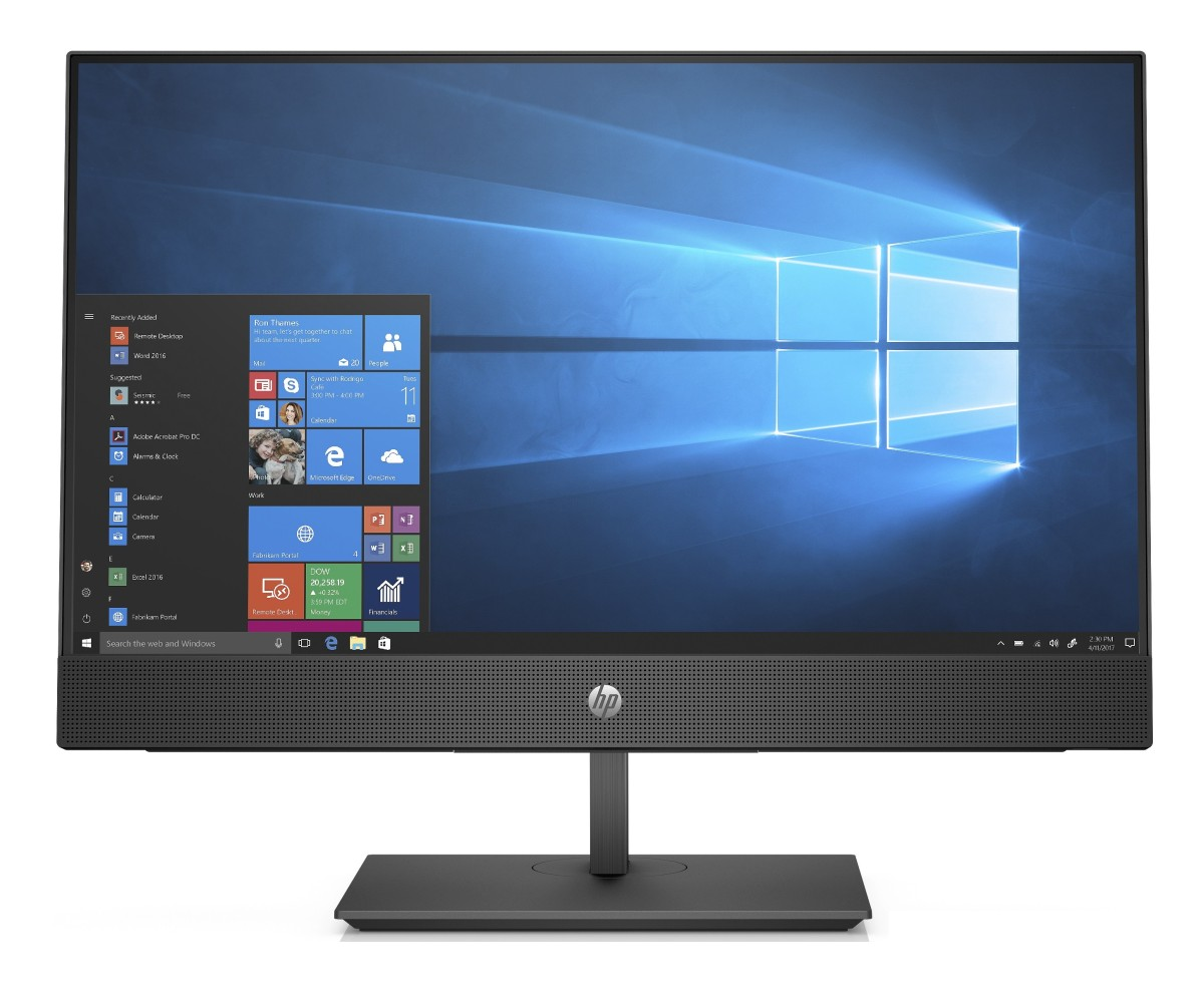 "HP ProOne 600 G4 / 21,5"" NT / Intel i3-8100/4GB/500 GB HDD/Intel HD/ DVDRW/ SD MCR/Win 10 Pro"