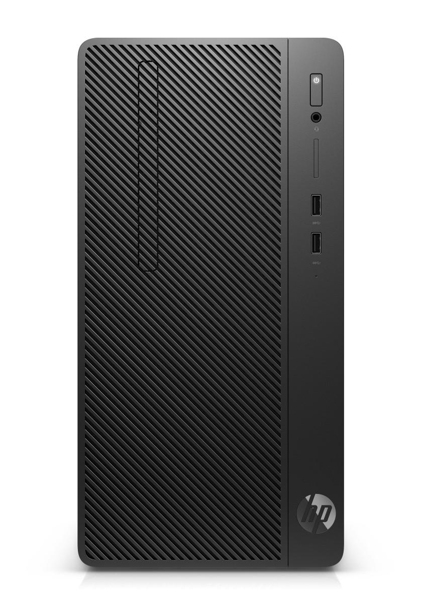 HP PC 290 G2 MT i3-8100 4GB 128GB SSD intelHD DVDRW W10P