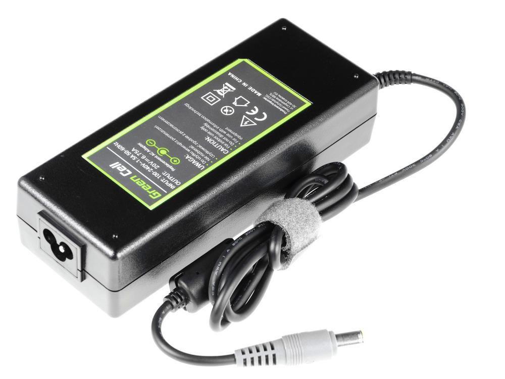 Nabíječka Green Cell pro Lenovo 135W | 20V | 6.75A | 7.9-5.5mm