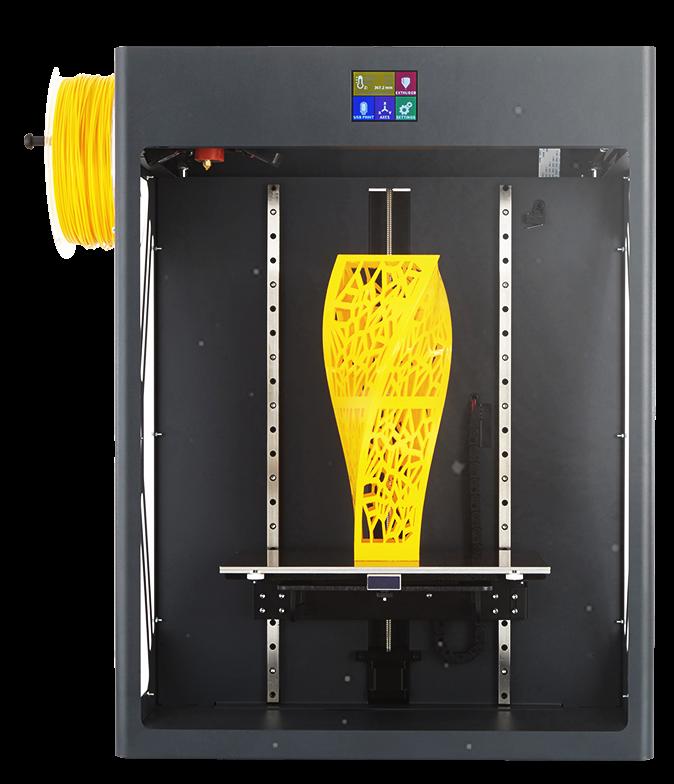 EDUPACK Printer 3D, CRAFTBOT XL (GRAY) + cover dome+ doors