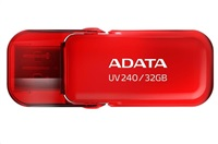 ADATA Flash Disk 32GB USB 2.0 Dash Drive UV240, Black