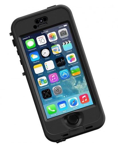 LifeProof nüüd odolné pouzdro pro iPhone 5/5s, černé