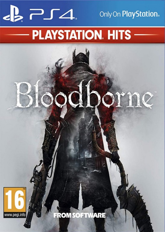 SONY PS4 hra Bloodborne HITS
