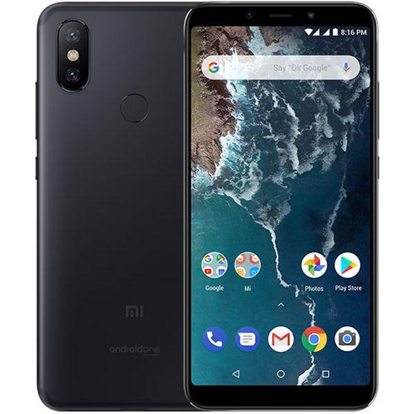 Xiaomi Mi A2 Global Black/5,99´´ FullHD+/2GHz OC/4GB/64GB/2xSIM/12+20MPx/3000mAh