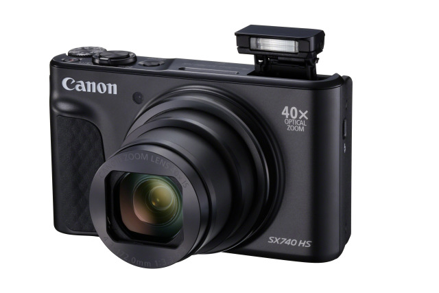 Canon PowerShot SX740HS, Black, TRAVEL KIT