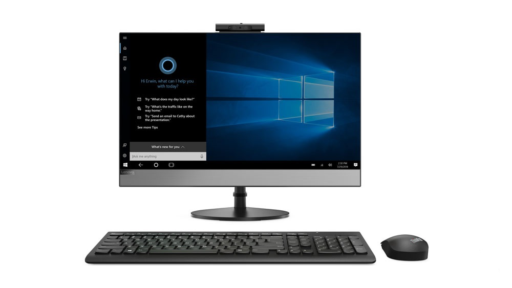 """LENOVO PC V530-24ICB AiO 23.8"""" 1920x1080 IPS touch,i5-8400T@1.7GHz,8GB,256SSD,Intel HD,DVD,HDMI,kl+mys,W10P,1Y on-site"""