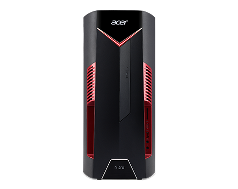 Acer Nitro N50-600/Ci5-8400/256GB SSD+1TB/16GB/GTX 1050Ti-4GB/DVD-RW/W10 Home
