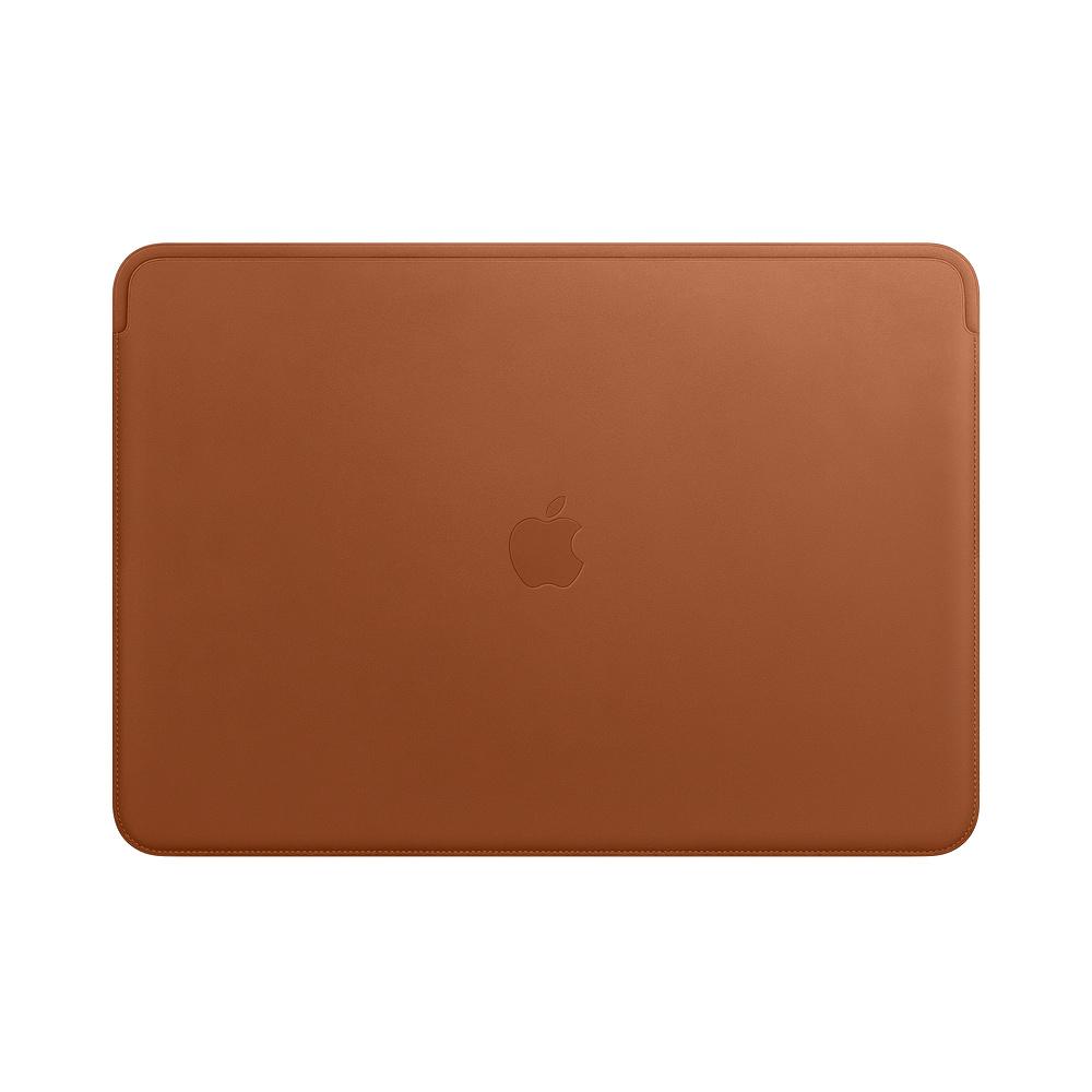 Leather Sleeve pro MacBook Pro 15 - Saddle Brown