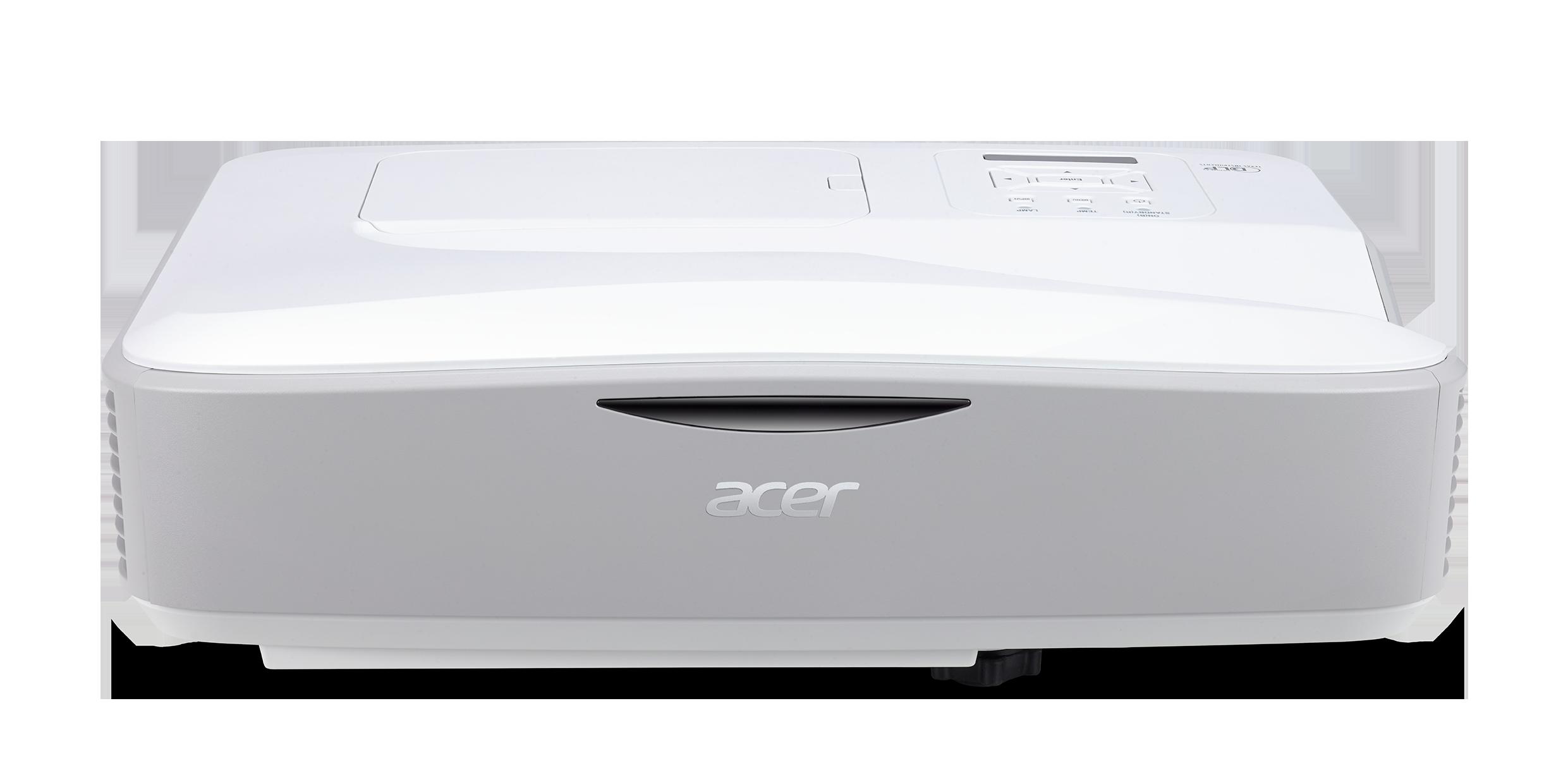 Acer U5230 DLP/3D/1024x768 XGA/3200 ANSI/18000:1/VGA,2xHDMI,USB,RJ45/repro 1x16W/4,6 Kg/Ultra Short Throw