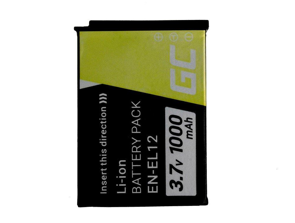 GREENCELL CB67 Baterie Green Cell EN-EL12 pro Nikon Coolpix AW100 AW110 AW120 S9500 S9300 S92