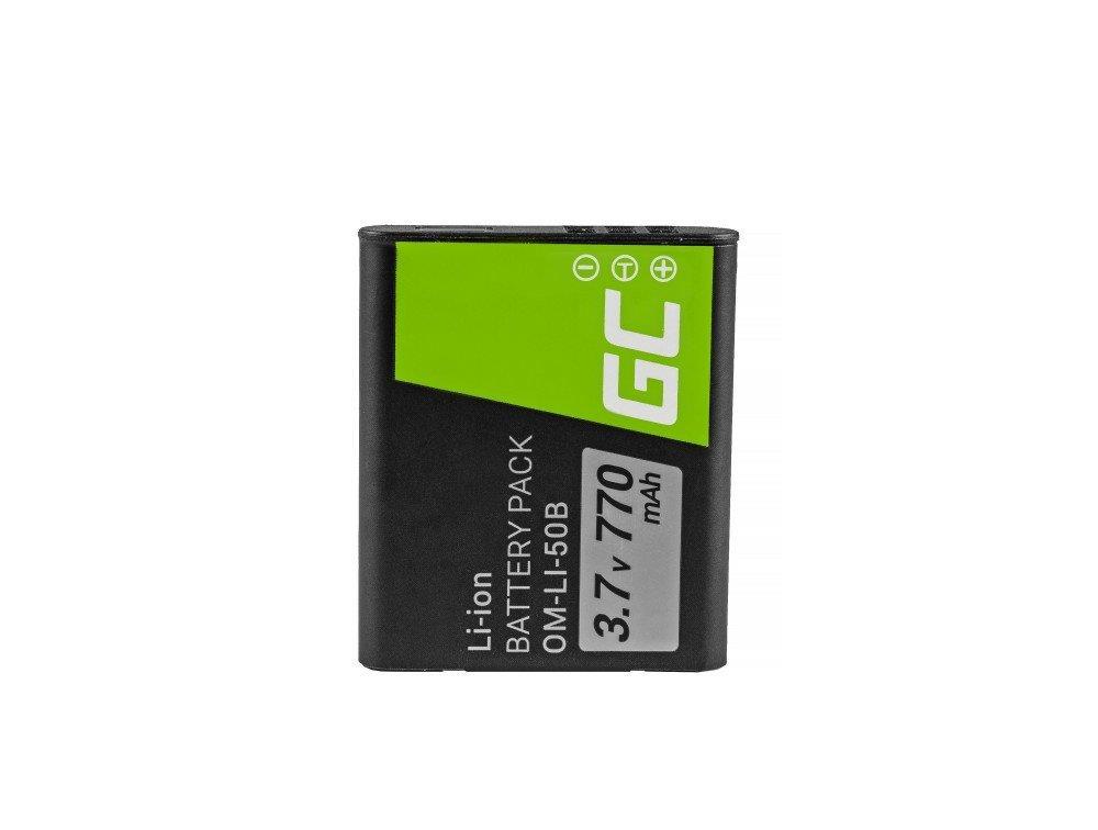 Bateria Green Cell ® Li-50B do Olympus SZ-15, SZ-16, Tough 6000, 8000, TG-820