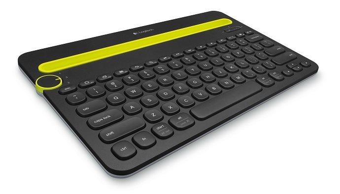 Logitech klávesnice Bluetooth Keyboard K480 (vlisováno v ČR)CZ/SK, černá