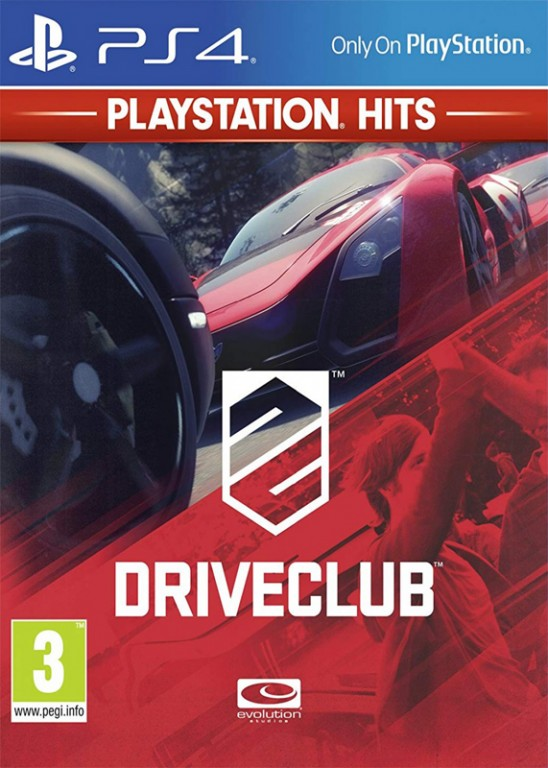 SONY PS4 hra DRIVECLUB HITS