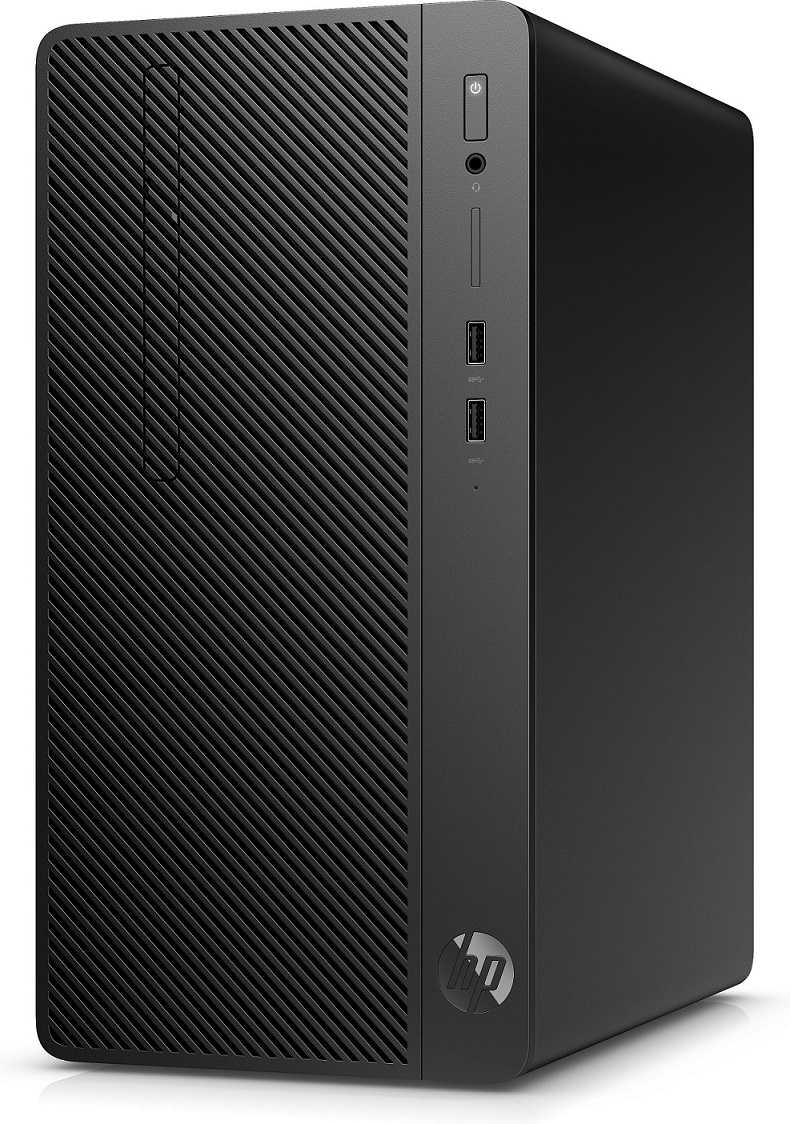 HP 290G1 MT i3-7100, 1x4 GB, HDD 500 GB, DVDRW, usb kláv. a myš, Win10Pro64