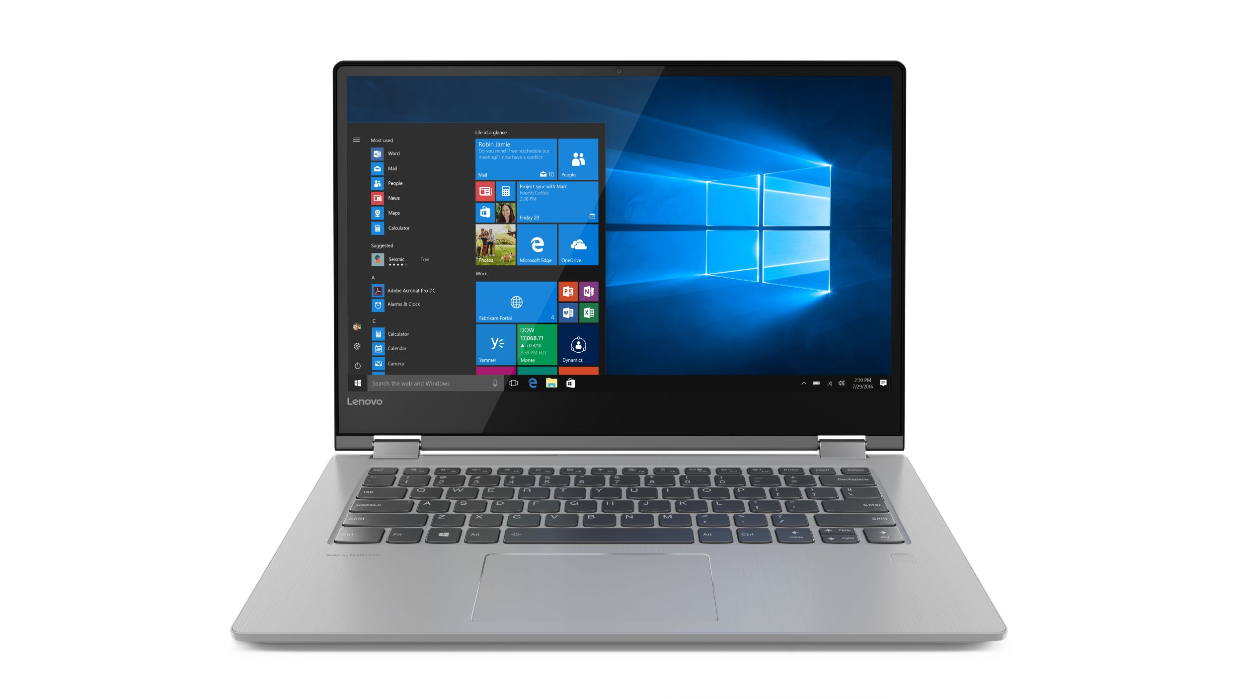"Lenovo YOGA 530-14ARR Ryzen 3 2200U 3,70GHz/4GB/SSD 128GB/14"" FHD/IPS/touch/ActivePen/FPR/WIN10 černá 81H90009CK"