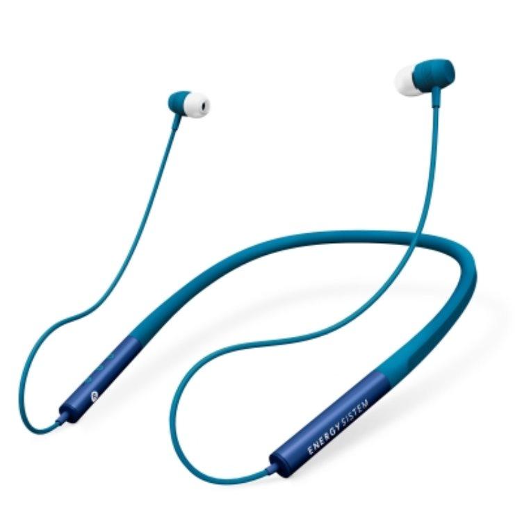 ENERGY Earphones Neckband 3 Bluetooth Blue, in-ear sportovní BT sluchátka, 97±3dB, BT v4.2