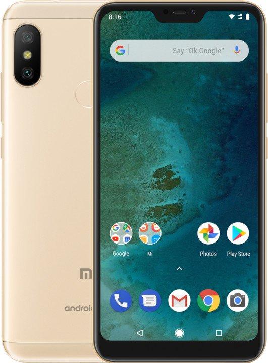 Xiaomi Mi A2 Lite (4GB/64GB), Gold