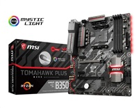 MSI MB Sc AM4 B350 TOMAHAWK PLUS, AMD B350, VGA, 4xDDR4