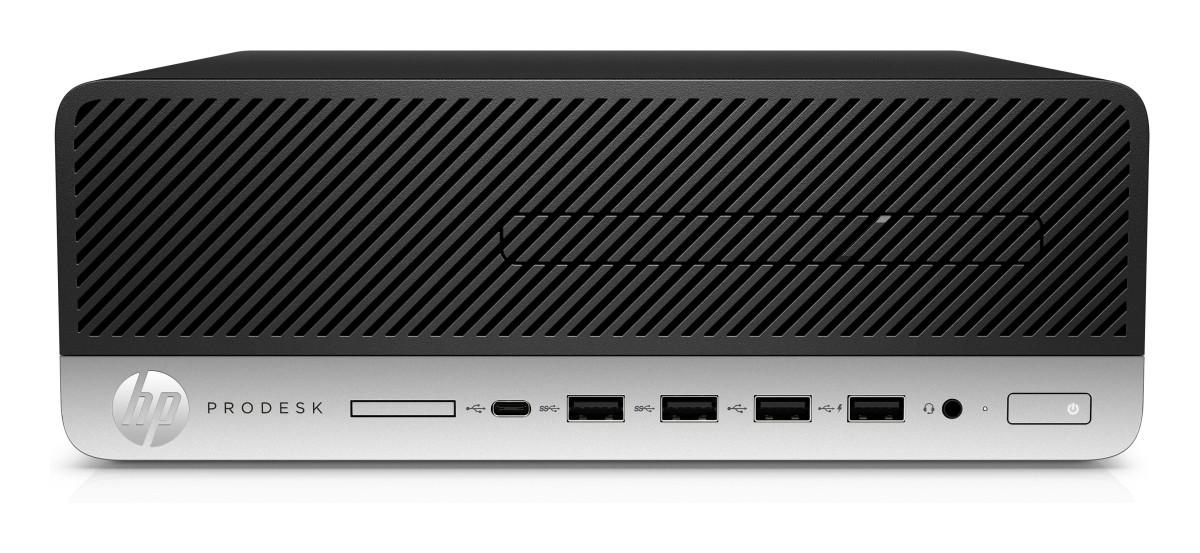 HP ProDesk 600 G4 SFF Intel i5-8500 / 8GB / 256 GB SSD / Intel HD / DVD / W10P