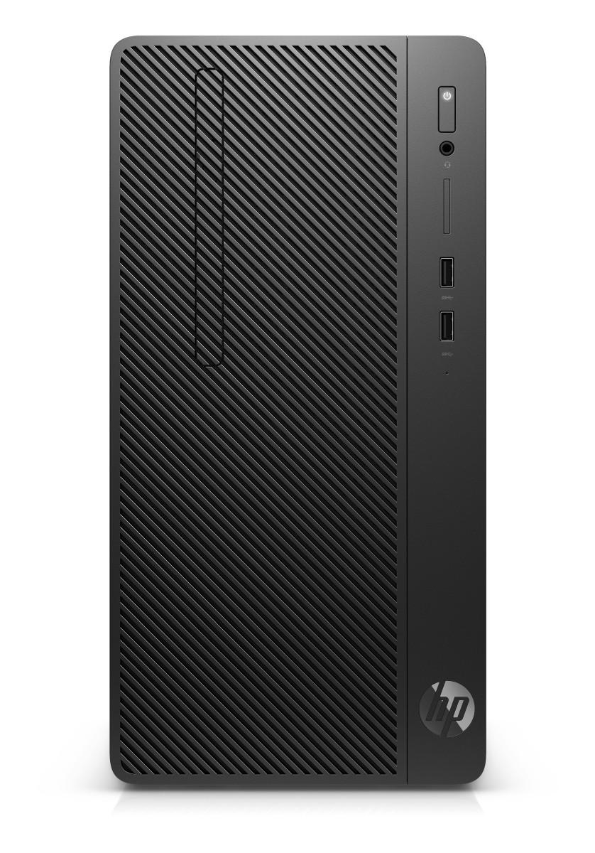 HP 285 G3 MT, Ryzen 3 Pro 2200G, AMD Radeon Vega 8, 4 GB, 128GB, DVDRW, W10Pro, 1y