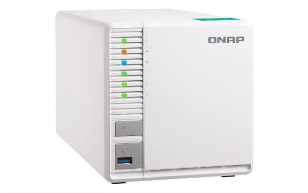 QNAP TS-332X-4G, 1,7 GHz QC/4GB/3xHDD/SSD/1xSFP+/2xGL/USB 3.0/R5/