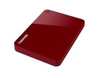 """TOSHIBA HDD CANVIO ADVANCE 1TB, 2,5"""", USB 3.0, červený"""