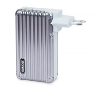 ROMOSS UP10 Space Gray EU Plug Power Bank Capacity:10000mAh (Cell: Li-polymer)